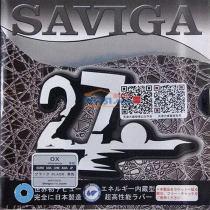 SAVIGA賽維卡塞維卡 SAVIGA 27 小顆粒乒乓長膠單膠皮 日本進口