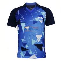 STIGA斯帝卡 CA-73121 藍色款專業印花乒乓球比賽服