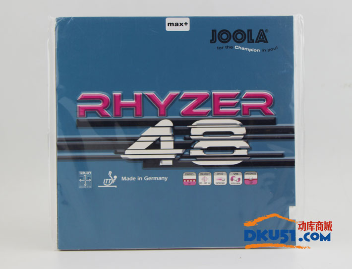 JOOLA优拉 雷霆48 Rhyzer 48 乒乓球套胶(力量充沛 动力十足)