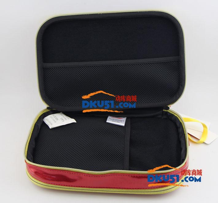 李宁 ABJL096-5000 马龙签名款 双层乒乓球拍套