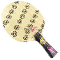 """STIGA斯帝卡 杜鹃AC 新款五层纯木乒乓球底板(轻量,细柄,一抹""""粉色"""")超轻、细手柄!"""