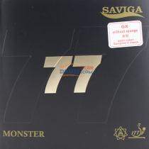 SAVIGA賽維卡 超級怪獸 77 固化乒乓球長膠單膠皮