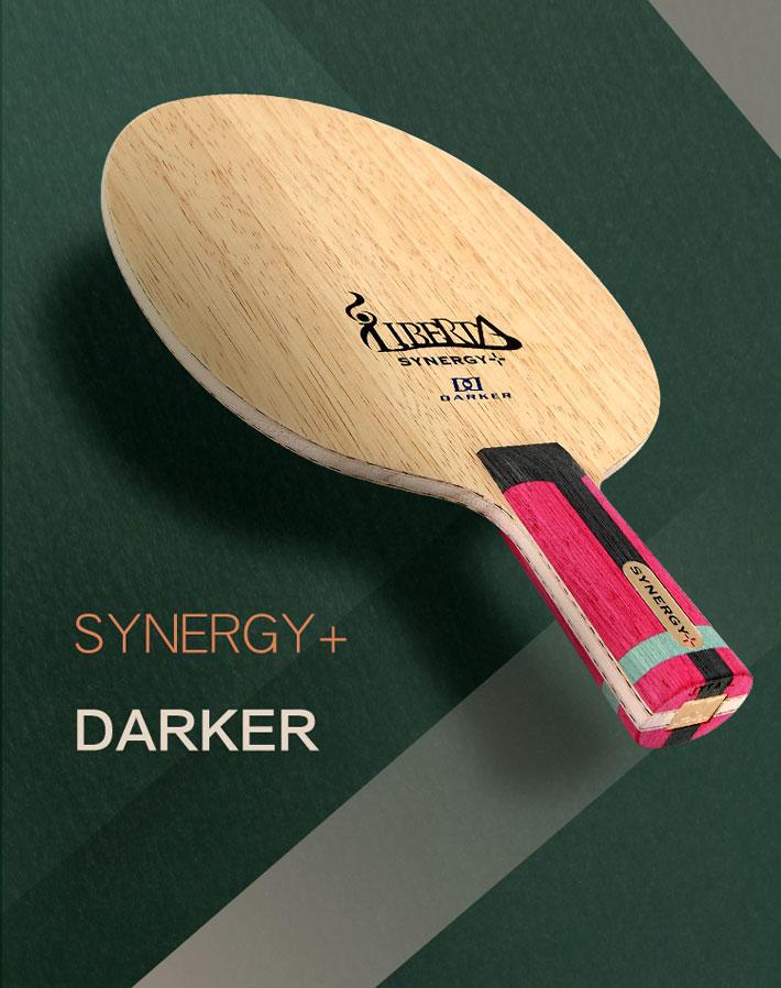 Darker達克 賽納吉+(SYNERGY+)乒乓球拍底板 超級纖維 剛健有力