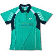 Butterfly蝴蝶 BWH-262-1905 绿色款 专业乒乓球服