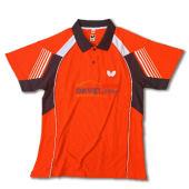Butterfly蝴蝶 BWH-262-0609 橘色款 专业乒乓球服