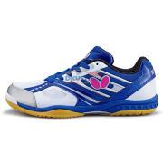 BUTTERFLY蝴蝶 LEZOLINE-5 专业男女款乒乓球鞋 宝蓝+白色