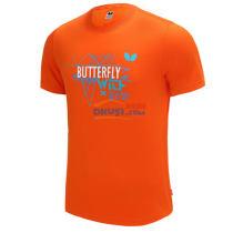 Butterfly蝴蝶 BWH-826-06 橘色 乒乓球文化衫