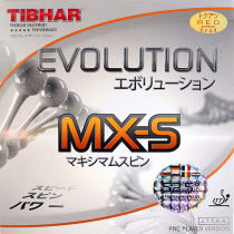 Tibhar挺拔 芯變革5G MX-S 中國版 乒乓球套膠,52.5度 柔和而有力量