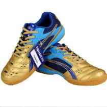 Tibhar挺拔 01918 蓝金 新T飞翔系列乒乓球鞋 减震防滑 耐磨透气