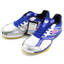 BUTTERFLY蝴蝶 LEZOLINE-5 專業男女款乒乓球鞋 寶藍+白色