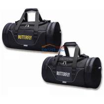 BUTTERFLY蝴蝶 BTY-311 圓筒包 乒乓球包 0209黑白色0211黑黃色