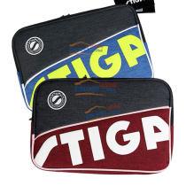 斯帝卡STIGA 紅/藍兩色可選款雙層乒乓球方拍套(結實耐磨)