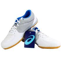 ASICS 亞瑟士 1073A002-100 白色/淺灰 專業乒乓球運動鞋 高透氣性能