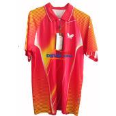 Butterfly蝴蝶 BWH-238-0111 紅色款 專業乒乓球服