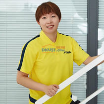 斯帝卡STGA CA-651615 乒乓球運動T恤 黃色(瑞典款比賽服)