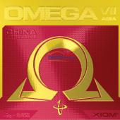 骄猛XIOM欧米伽7中国光 OMEGA VII CHINA GUANG 79-058 专业乒乓球套胶 专为国人设计