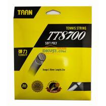泰昂TAAN TT8700 彈力網線 10角硬線 網球線