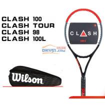 Wilson威爾勝 黑科技碳纖維專業網球拍 CLASH