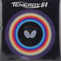 蝴蝶T64反膠套膠(Butterfly TENERGY.64)05820 T64張繼科用  唯快不破