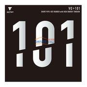 VICTAS维克塔斯 V0>101 020202 生胶乒乓球套胶