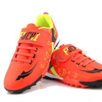福驰 TF908-3 红色款 青少年儿童足球鞋 防滑透气 耐磨减震