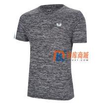 Butterfly蝴蝶圆领文化衫 乒乓球乒乓球T恤 BWH-831 灰色款
