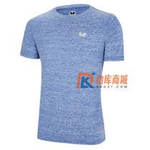 Butterfly蝴蝶圆领T恤 乒乓球文化衫 BWH-831 蓝色款