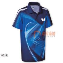 butterfly蝴蝶 BWH-265-0514乒乓球服运动比赛服