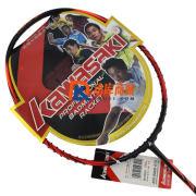 Kawasak川崎  HIGH TENSION-G5   超磅G5 羽毛球拍 橙红款