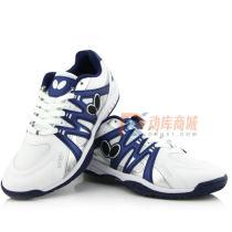 Butterfly蝴蝶 LEZOLINE-9 专业乒乓球鞋 室内运动鞋 2021新品 白蓝款