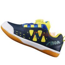 Stiga斯帝卡 6321 藏蓝儿童乒乓球鞋 牛筋底耐磨防滑 自动鞋带