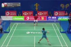 2019苏迪曼杯羽毛球比赛视频:周天成VS伍家朗