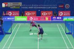 2019苏迪曼杯羽毛球比赛在线观看视频:石宇奇VS李梓嘉