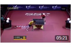 2019乒乓球亚州锦标赛比赛视频手机观看:梁靖崑VSChua Josh Shao