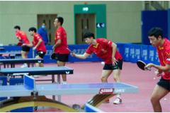 国乒7月集结海南 备战下半年赛事