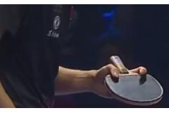 林高远、陈梦、杜凯琹、伊藤美诚、加藤美优使用乒乓球拍图解