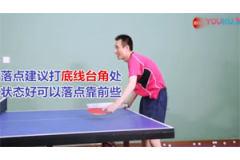 正手拉球使不上力,容易变形乒乓球视频教学