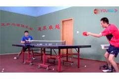 下旋拉不起来,控制不住落点的乒乓球视频教学
