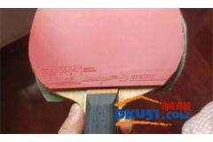 岸度R53乒乓球套膠2.0厚度試打測評