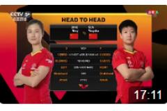 2020WTT澳門乒乓球賽排位賽比賽視頻:孫穎莎vs丁寧