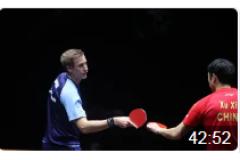 2020WTT澳門乒乓球賽排位賽比賽視頻:許昕vs法爾克