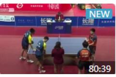 2020乒超聯賽男子乒乓球比賽視頻:劉丁碩/曹彥濤VS方博/王楚欽 朱毅VS馬龍 曹彥濤VS王楚欽