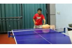 正手拉球动作不稳定如何改进乒乓球教学视频