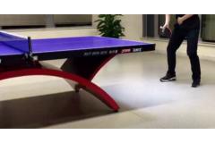 传统直板反手推挡乒乓球技术教学视频