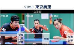 2021中国香港乒乓球队奥运参赛名单:黄镇廷杜凯琹身兼三项