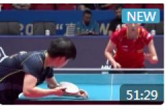 2021WTT世乒赛直通赛女单半决赛视频:王曼昱VS孙颖莎