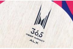 骄猛36.5和蝴蝶林高远ALC乒乓球底板试打评测对比怎么样