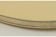 乒乓球拍底板板层薄厚有什么不同?