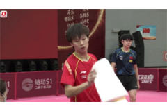 2021奥运乒乓球热身赛:王楚钦横扫林高远 赵子豪胜林诗栋