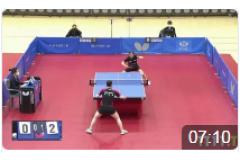 2021韩国东京直通乒乓球女单决赛视频:申裕斌VS李智恩
